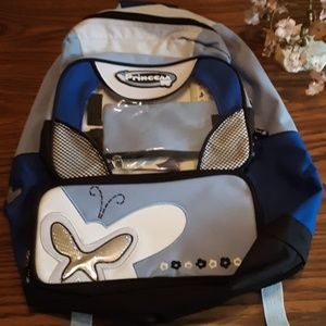 NWOT PRINCESS BUTTERFLY KIDS BACKPACK